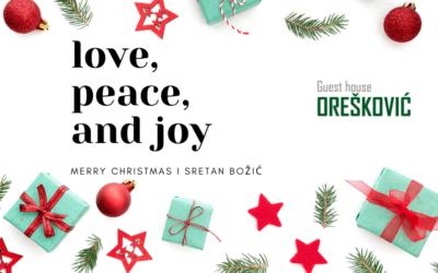 Sretan Božić i Nova godina 2021.