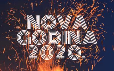 NOVA GODINA 2020. na Plitvicama u Lici