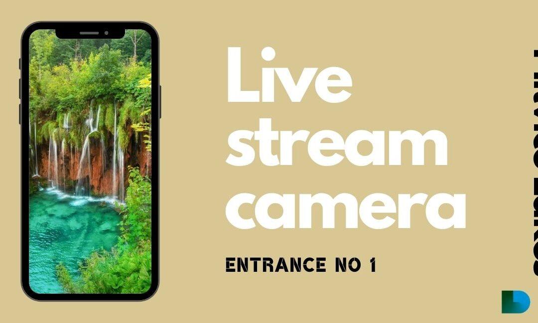 Live stream camera Plitvice lakes