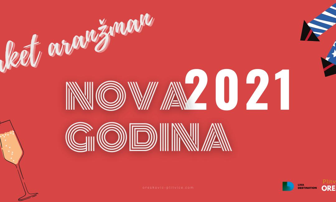Nova godina 2021 Plitvička jezera