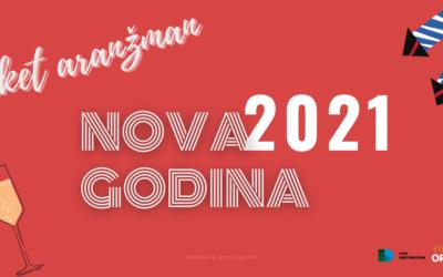 Nova GODINA 2021. na Plitvičkim jezerima